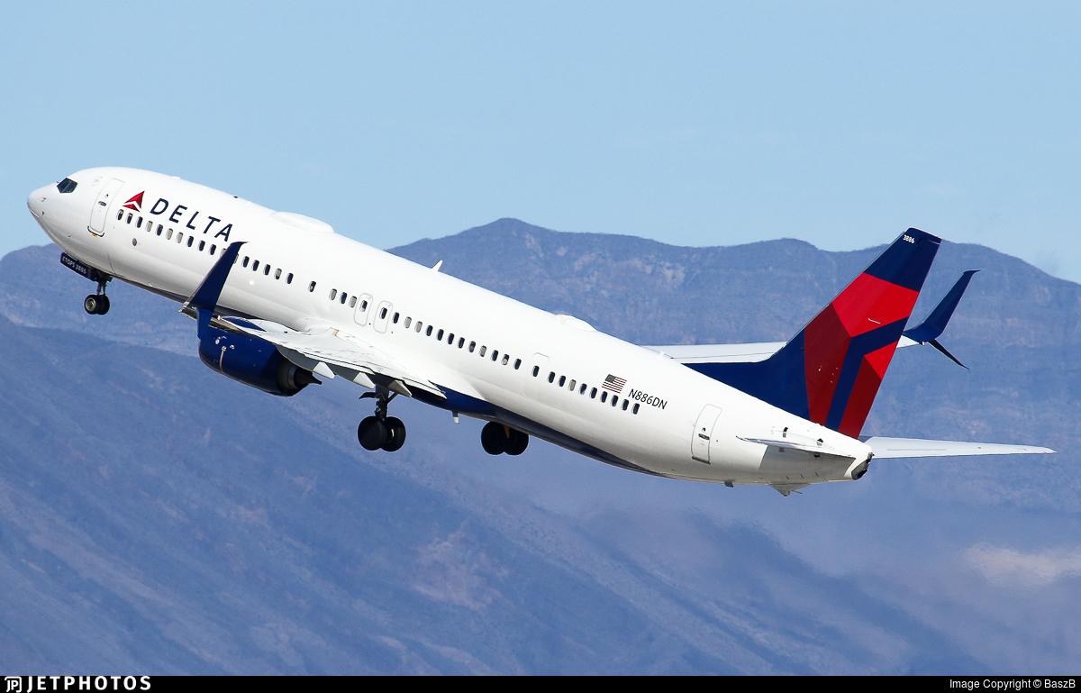 N886DN - Boeing 737-932ER - Delta Air Lines