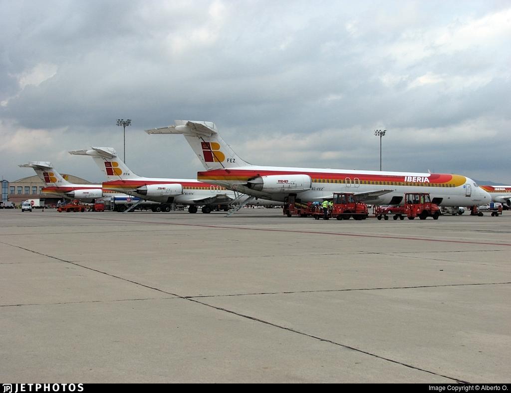 LEBL - Airport - Ramp