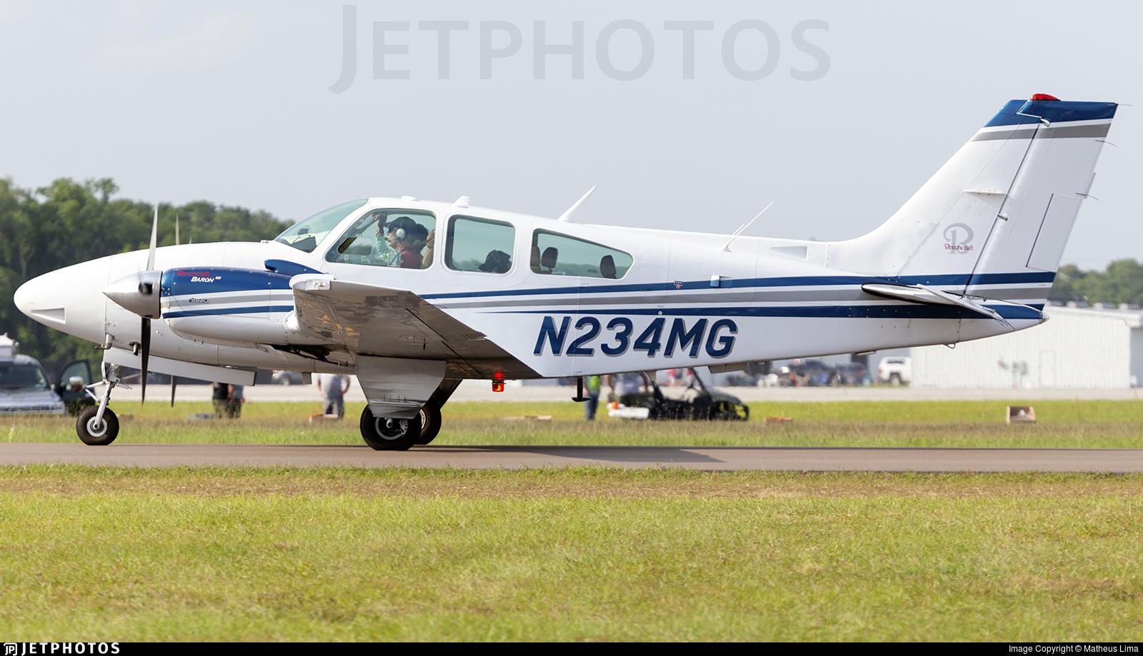 N234MG - Beechcraft 95-E55 Baron - Private