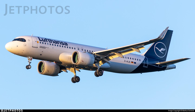D-AIJE - Airbus A320-271N - Lufthansa