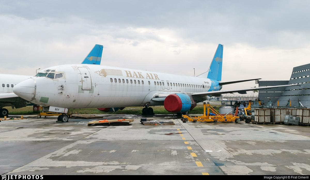 5N-BOV - Boeing 737-4U3 - Hak Air