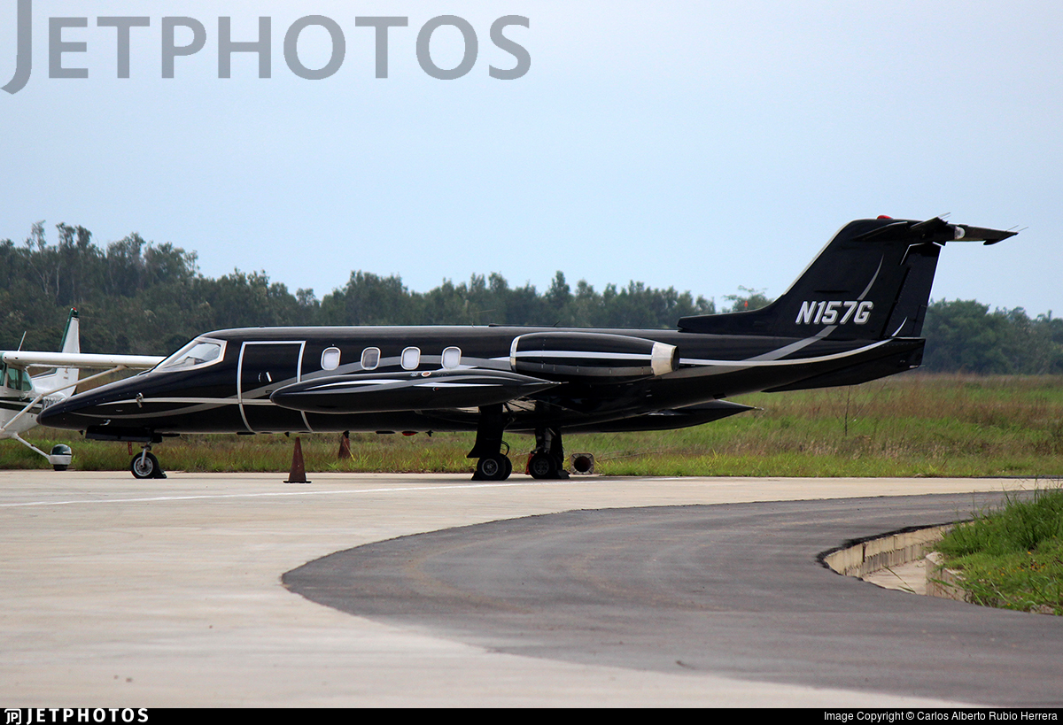 N157G - Bombardier Learjet 25D - Private