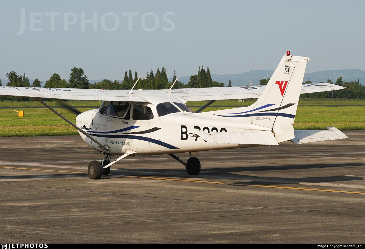 B-7932 - Cessna 172R Skyhawk - Civil Aviation Flight University of China