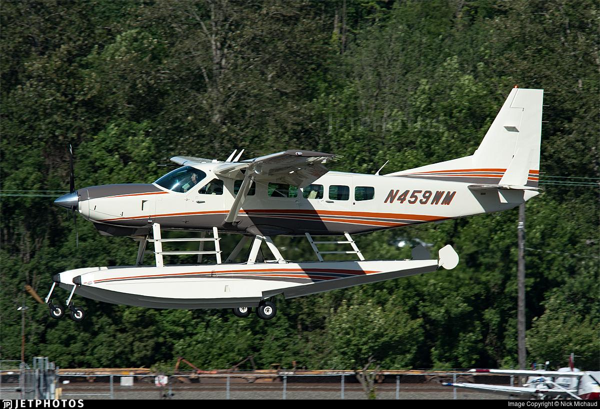 N459WM - Cessna 208B Grand Caravan EX - Private