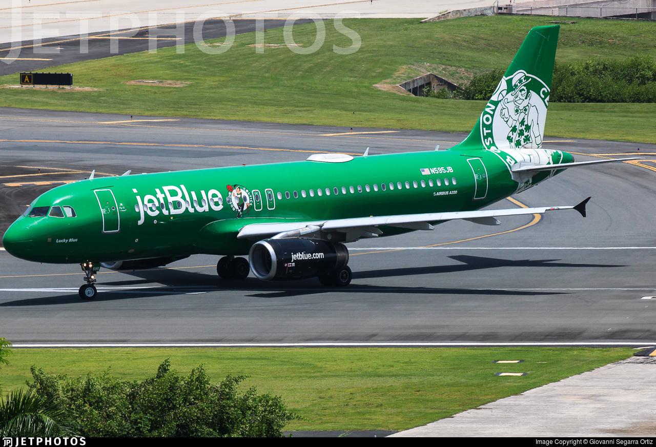 N595JB - Airbus A320-232 - jetBlue Airways