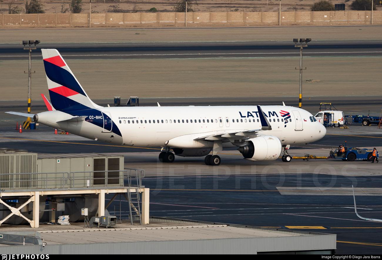 CC-BHC - Airbus A320-271N - LATAM Airlines