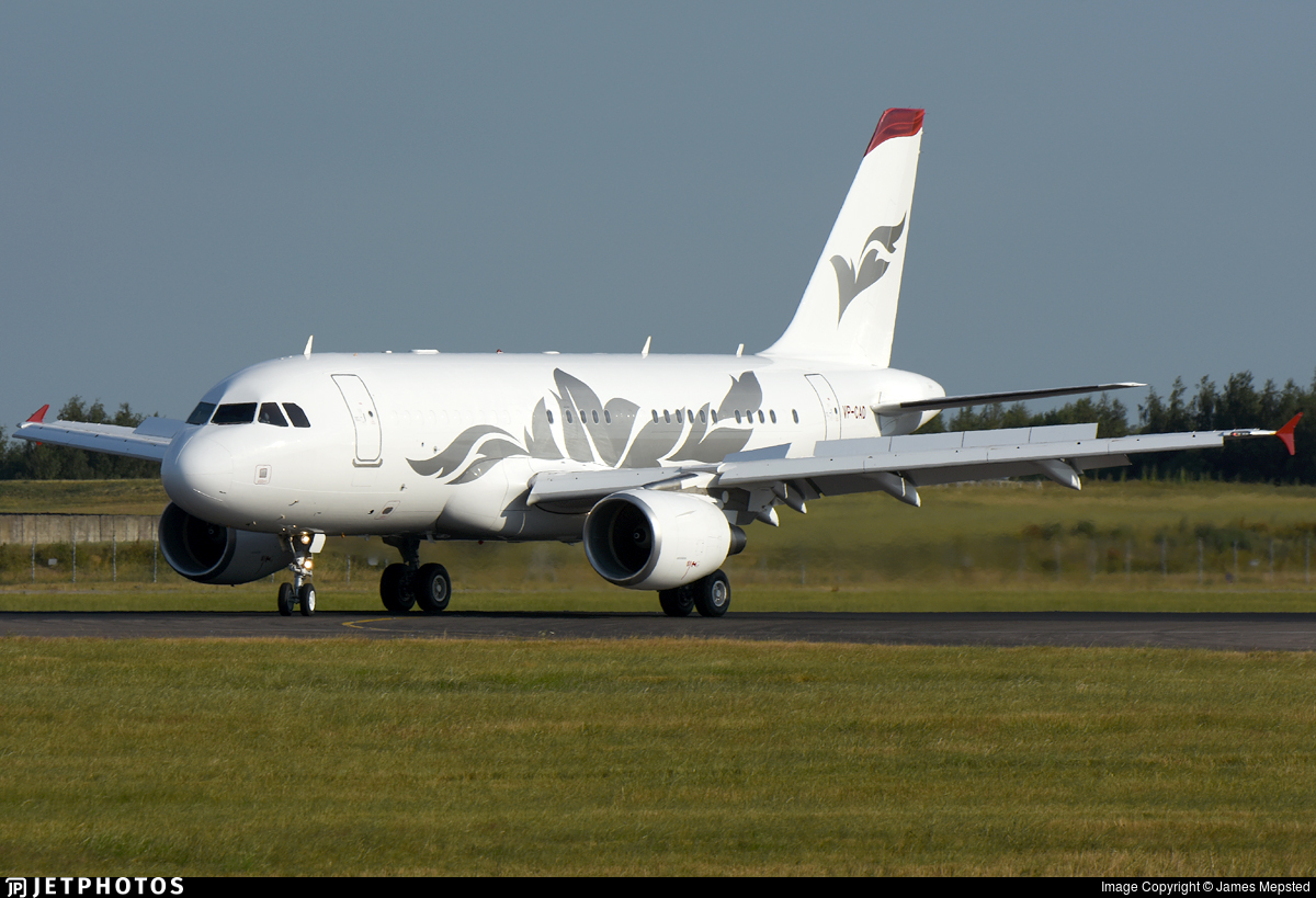 VP-CAD | Airbus A319-115(CJ) | Private | James Mepsted