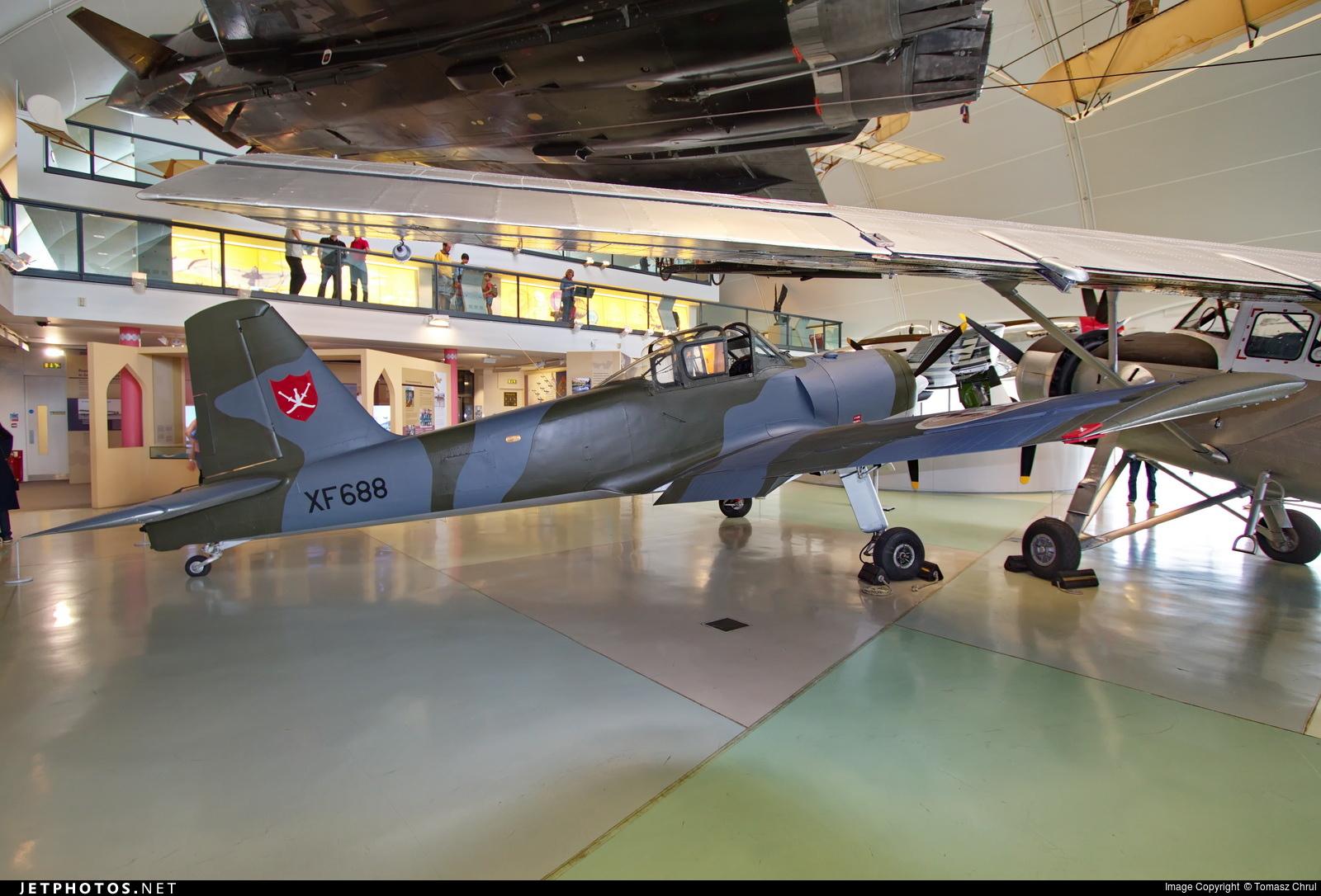 WV562 - Percival Provost T.1 - Oman - Royal Air Force