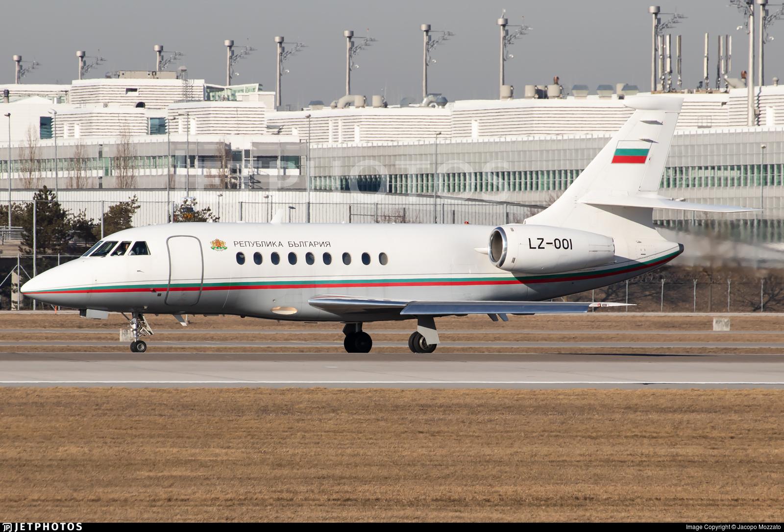LZ-OOI - Dassault Falcon 2000 - Bulgaria - Government