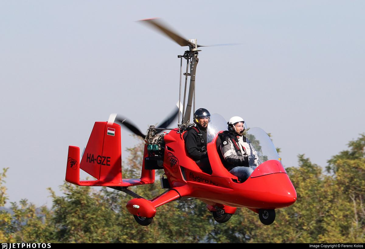 HA-GZE - Apollo Gyro AG-1 - Private