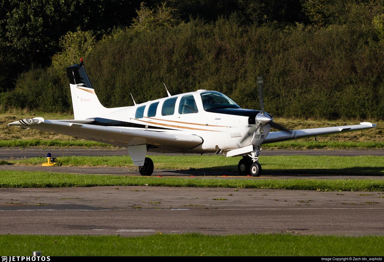 G-KSHI - Beech A36 Bonanza - Private