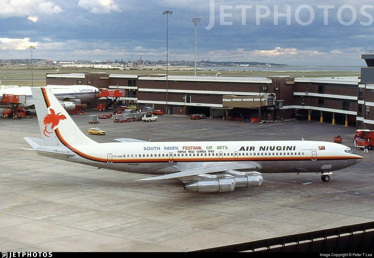P2-ANB - Boeing 707-338C - Air Niugini