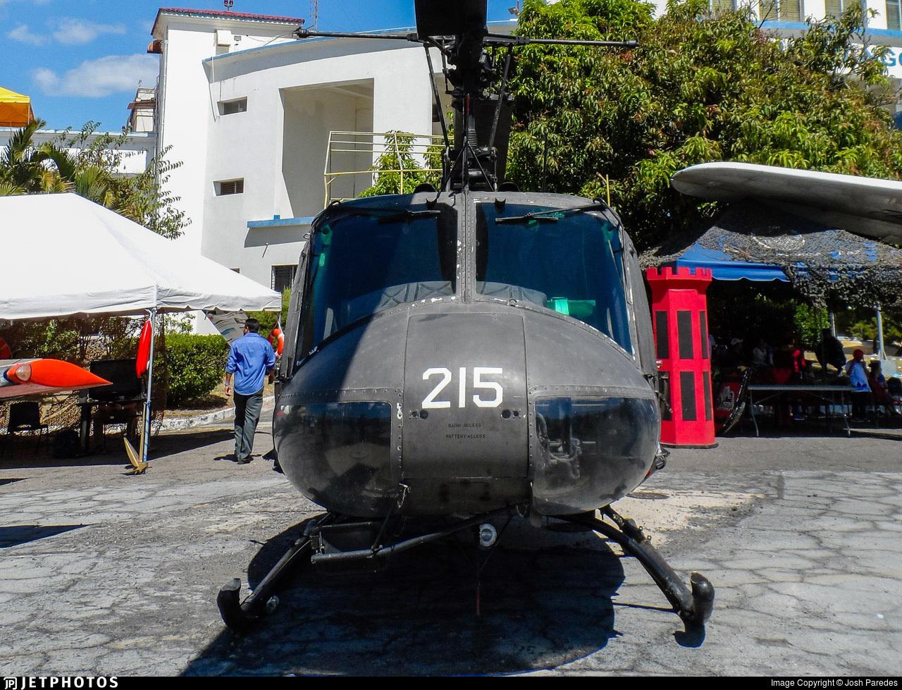 215 - Bell UH-1H Iroquois - El Salvador - Air Force