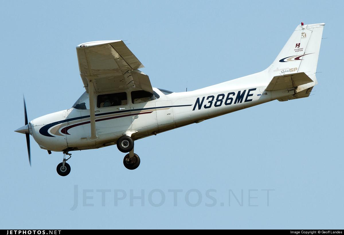 N386ME - Cessna 172S Millennium Skyhawk SP - Hillsboro Aviation