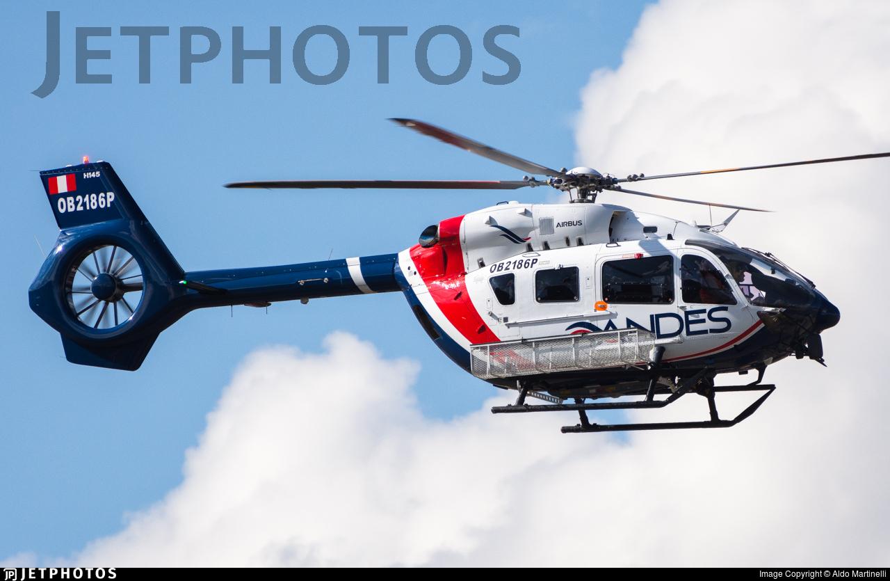 OB2186P - Airbus Helicopters H145 - Servicios Aéreos de los Andes