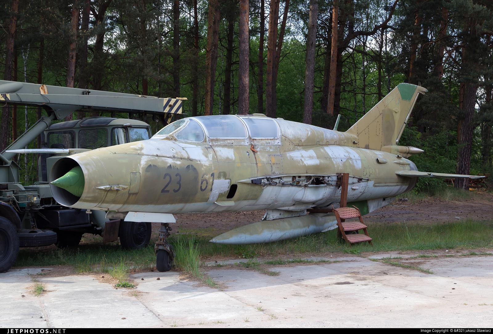 23-61 - Mikoyan-Gurevich MiG-21UM Mongol B - Germany - Air Force