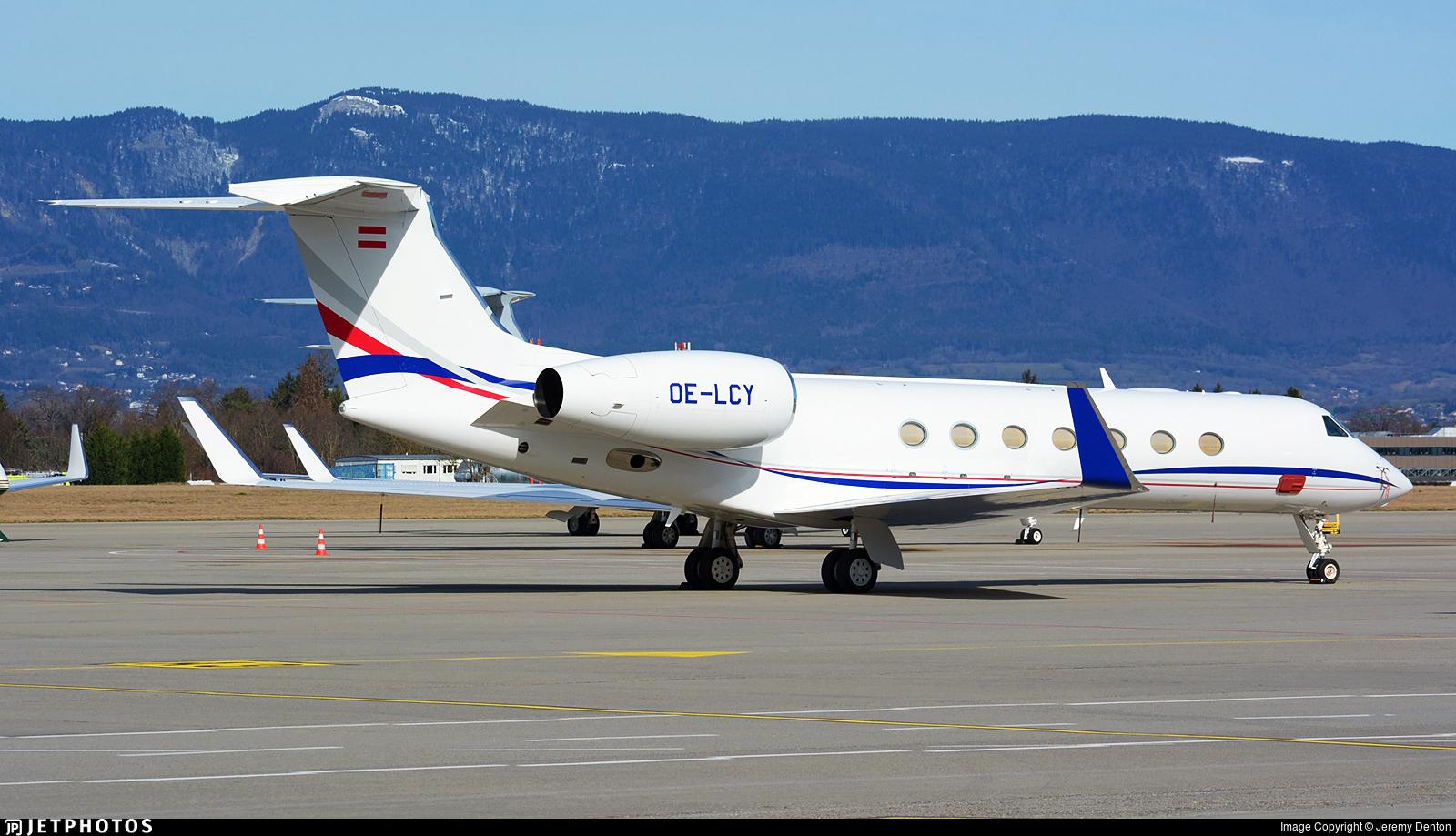 OE-LCY - Gulfstream G550 - Private