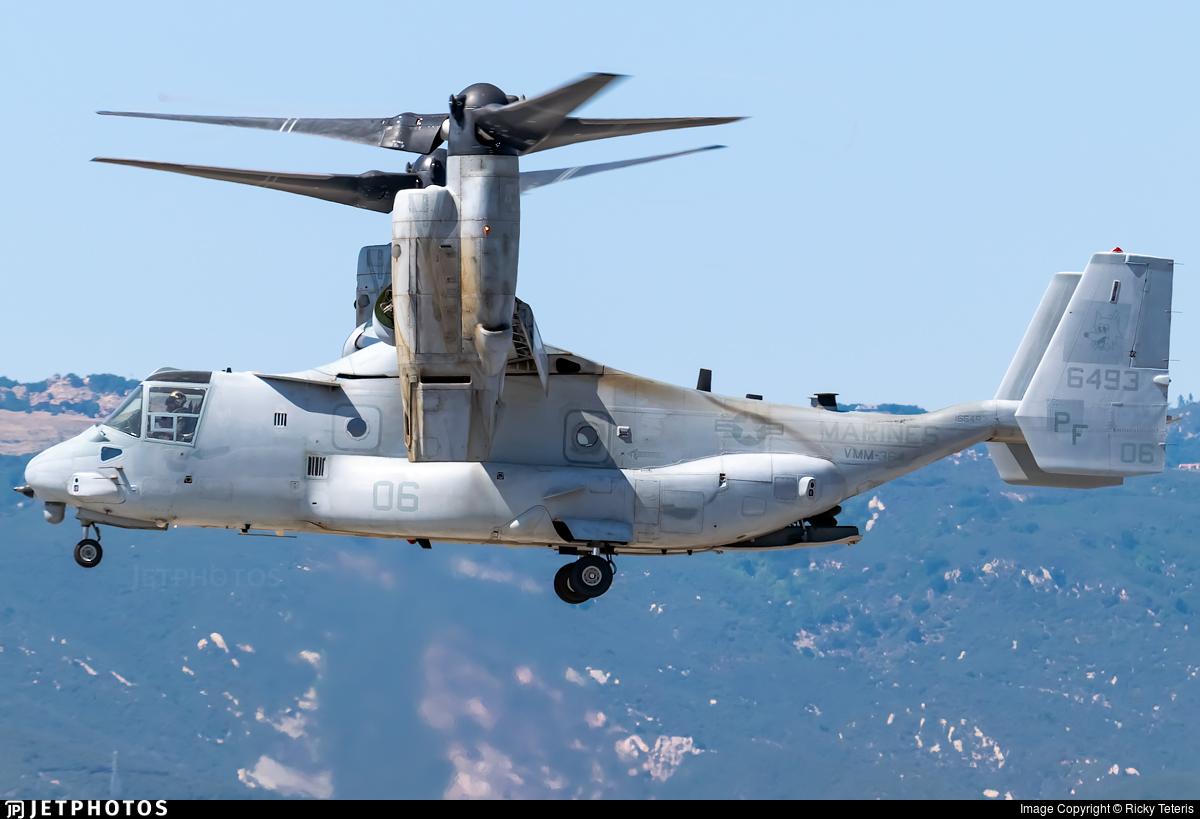 166493 - Boeing MV-22B Osprey - United States - US Marine Corps (USMC)