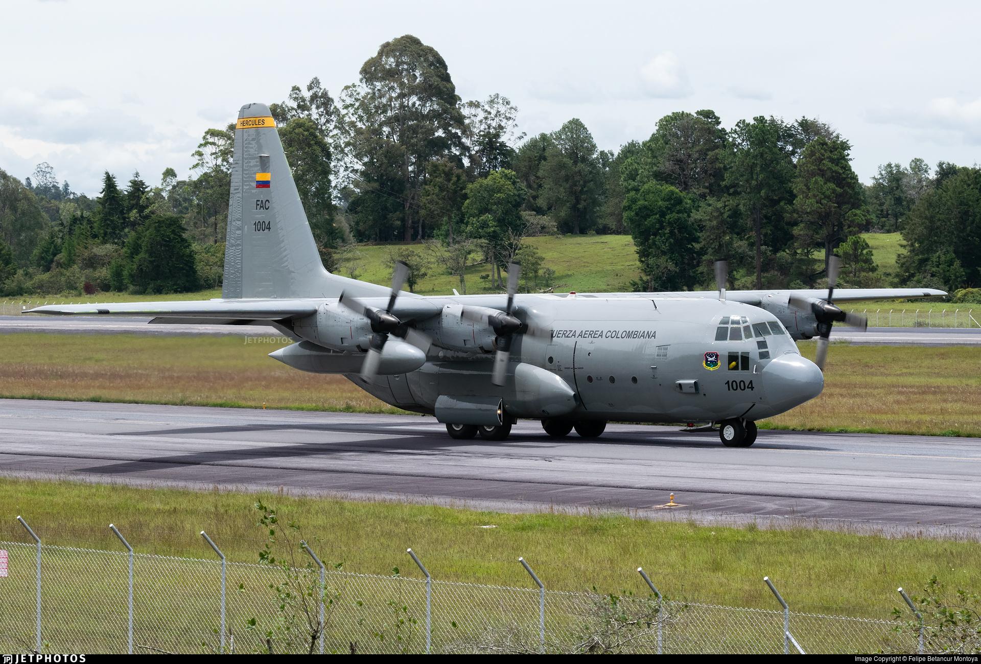 FAC1004 - Lockheed C-130H Hercules - Colombia - Air Force