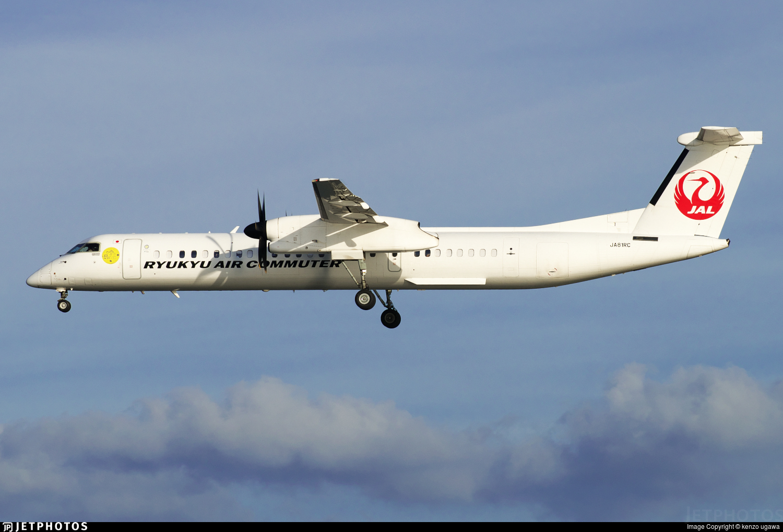 JA81RC - Bombardier Dash 8-Q402C - Ryukyu Air Commuter (RAC)