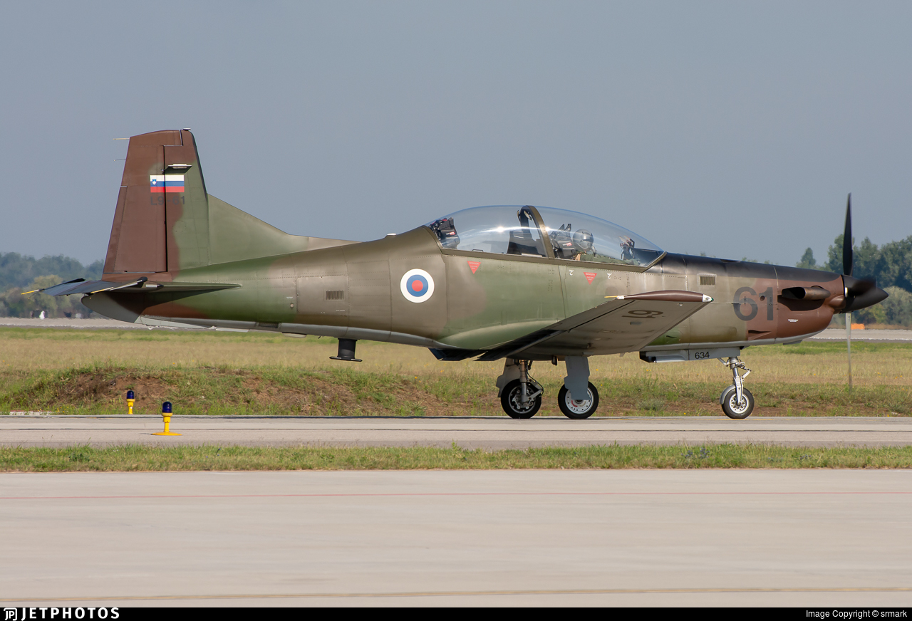 L9-61 - Pilatus PC-9M - Slovenia - Air Force