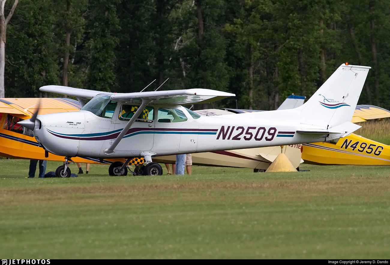 N12509 - Cessna 172M Skyhawk - Private