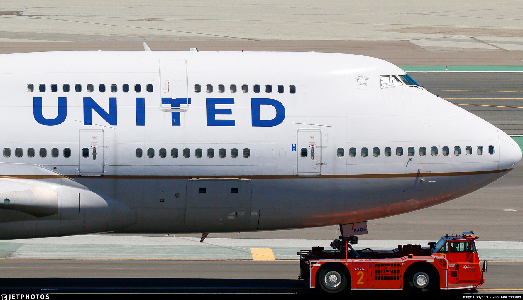 N105UA - Boeing 747-451 - United Airlines