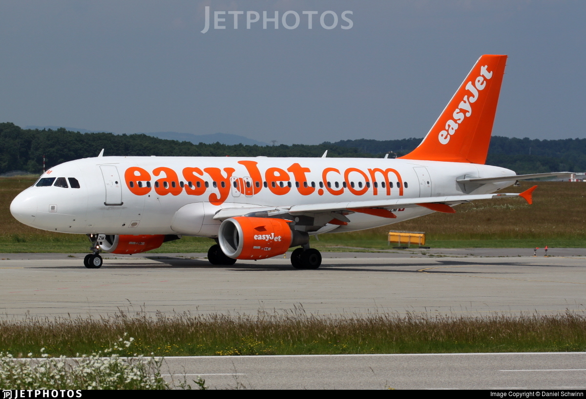 HB-JZM - Airbus A319-111 - easyJet Switzerland