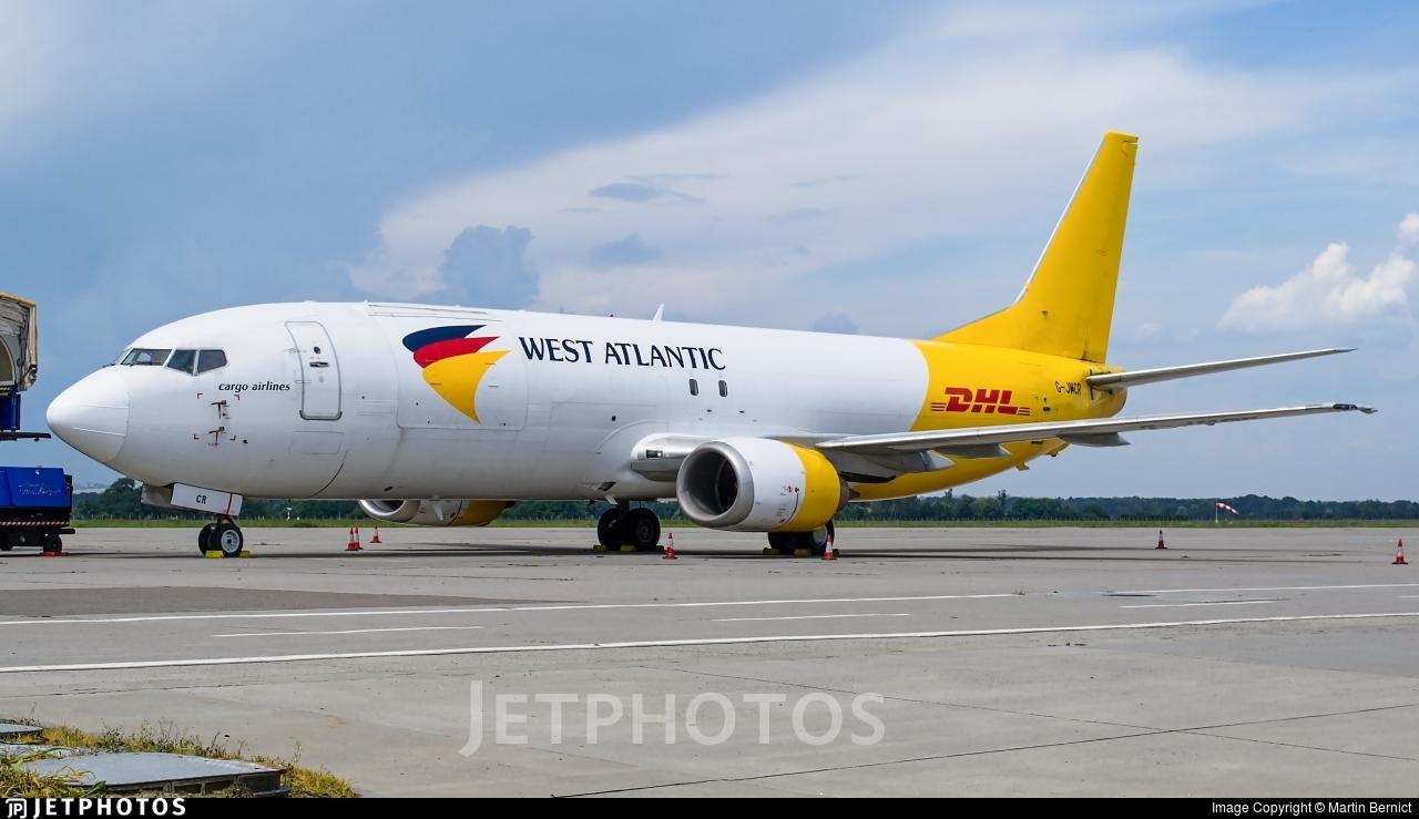 G-JMCR - Boeing 737-4Q8(SF) - West Atlantic Airlines