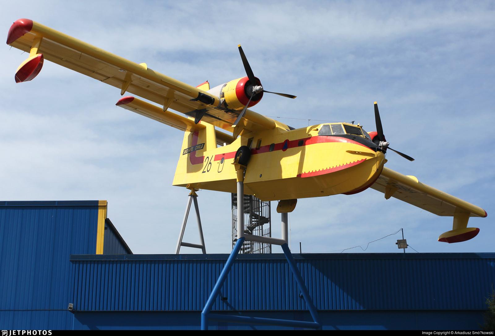 F-ZBBH - Canadair CL-215 - France - Sécurité Civile