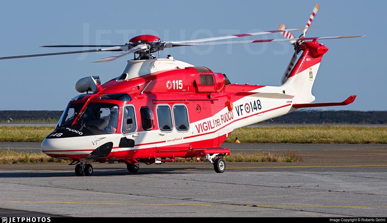 VF-148 - Agusta-Westland AW-139 - Italy - Vigili del Fuoco