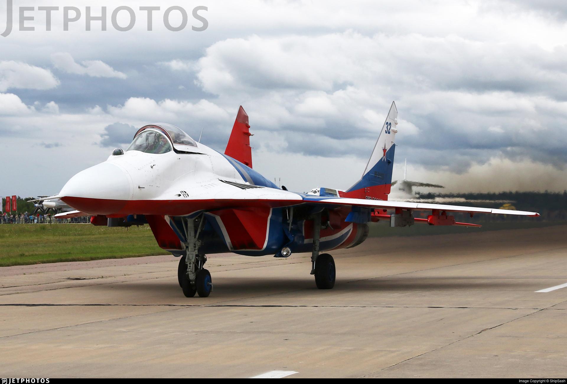 RF-91925 - Mikoyan-Gurevich MiG-29S Fulcrum C - Russia - Air Force