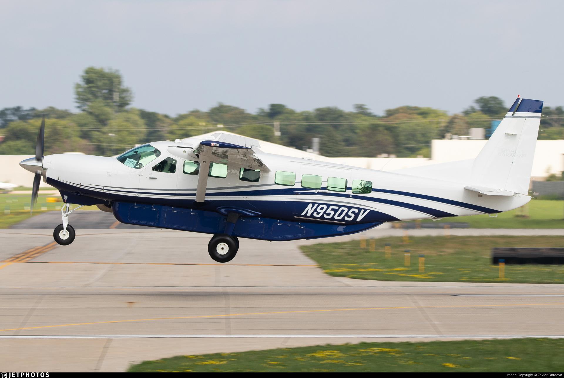 N950SV - Cessna 208B Grand Caravan EX - Private