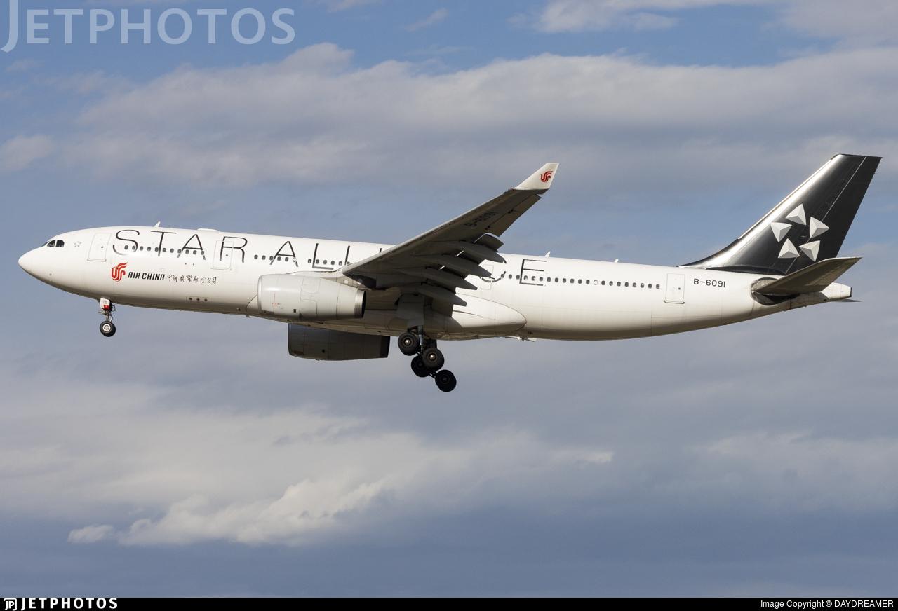 B-6091 - Airbus A330-243 - Air China