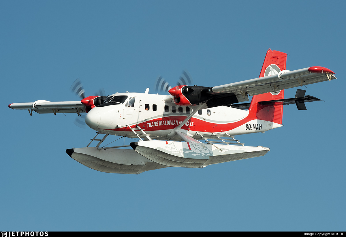 8Q-MAH - De Havilland Canada DHC-6-300 Twin Otter - Trans Maldivian Airways