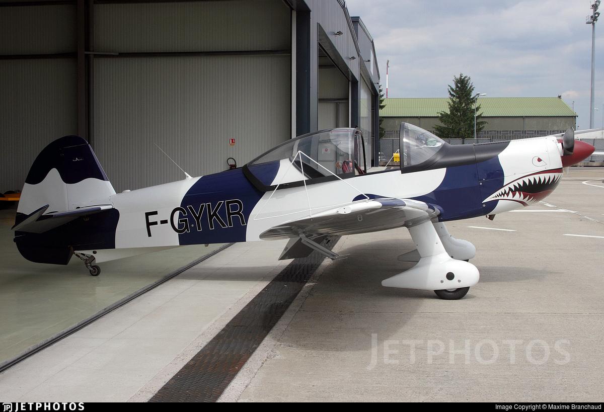 F-GYKR - Mudry CAP-10B - European Aero Training Institute Strasbourg (E.A.T.I.S)