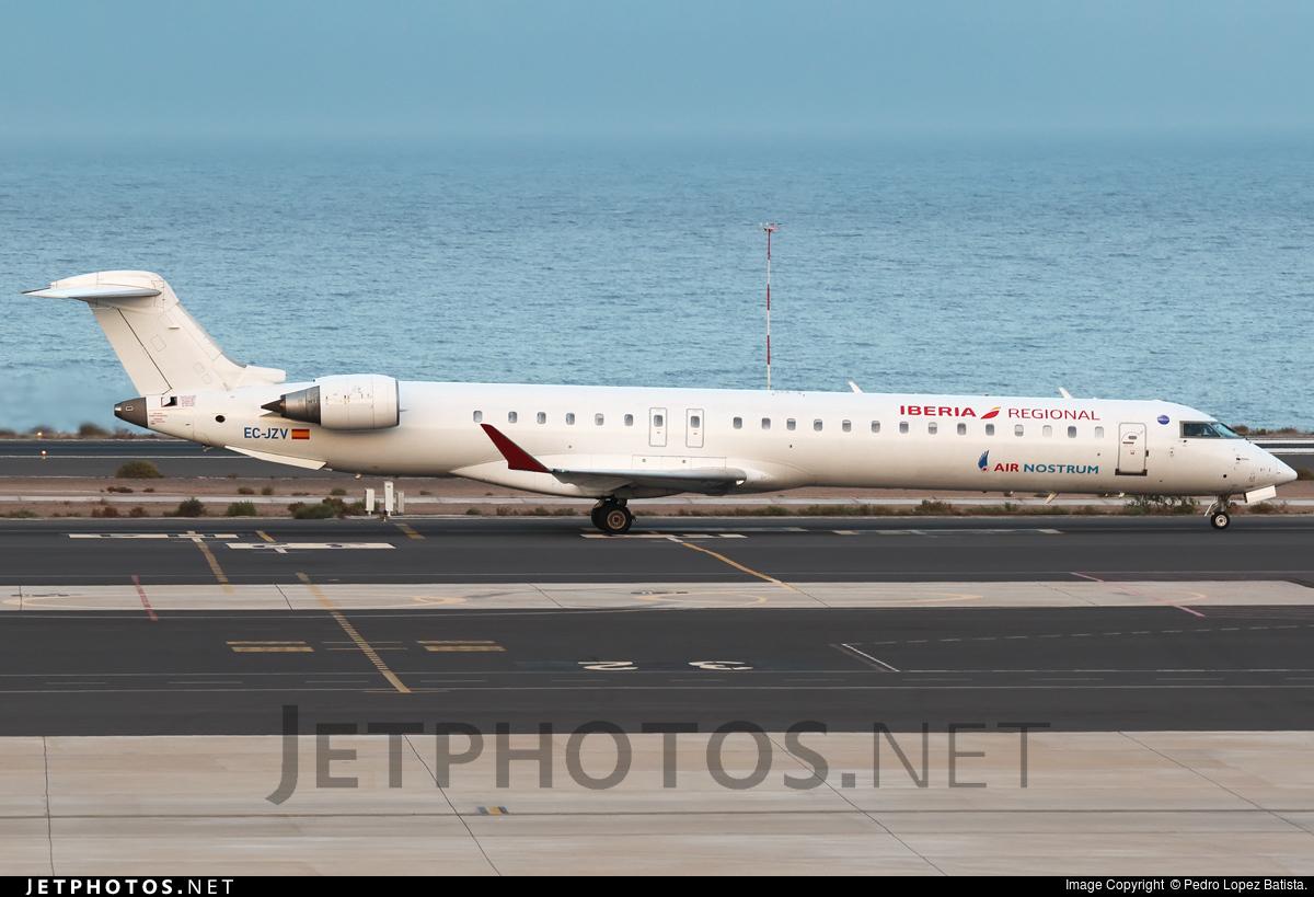 EC-JZV - Bombardier CRJ-900LR - Iberia Regional (Air Nostrum)