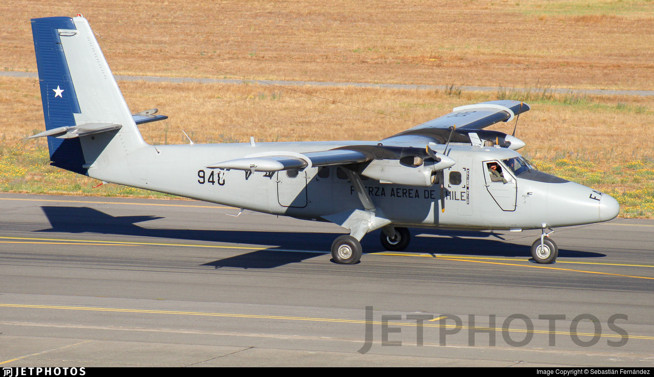 948 - De Havilland Canada DHC-6-300 Twin Otter - Chile - Air Force