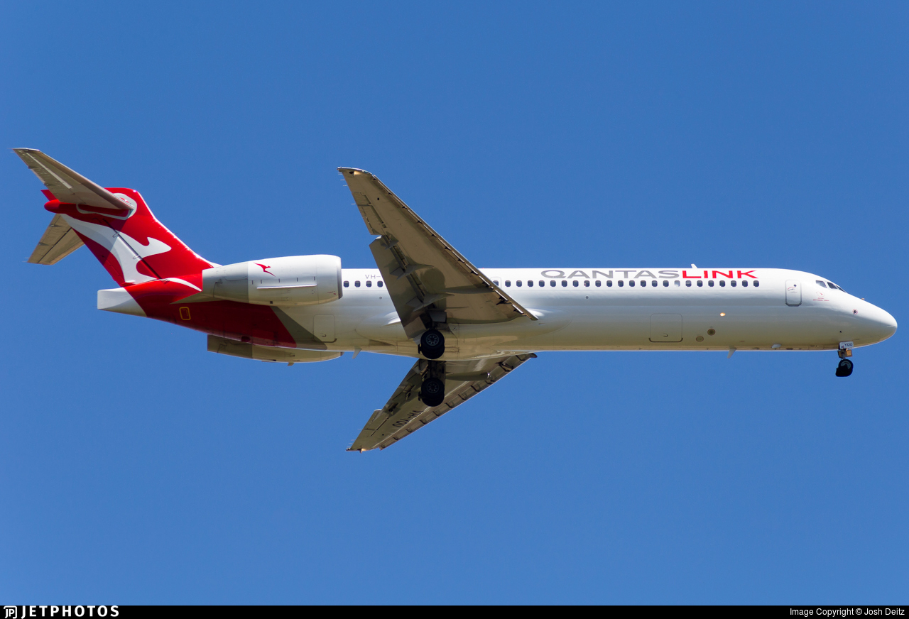 VH-YQU - Boeing 717-2BL - QantasLink (Cobham Aviation Services Australia)
