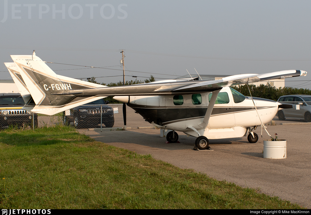 C-FGWH - Cessna 337G Super Skymaster - Can-West Corporate Air Charters