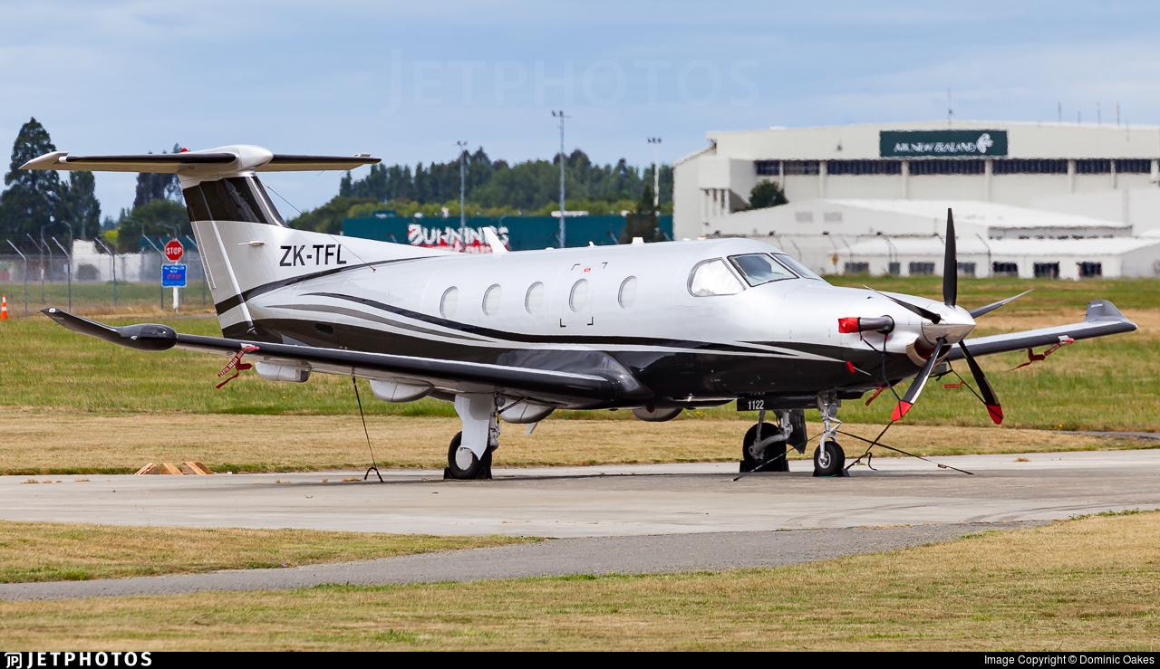 ZK-TFL - Pilatus PC-12/47E - Private