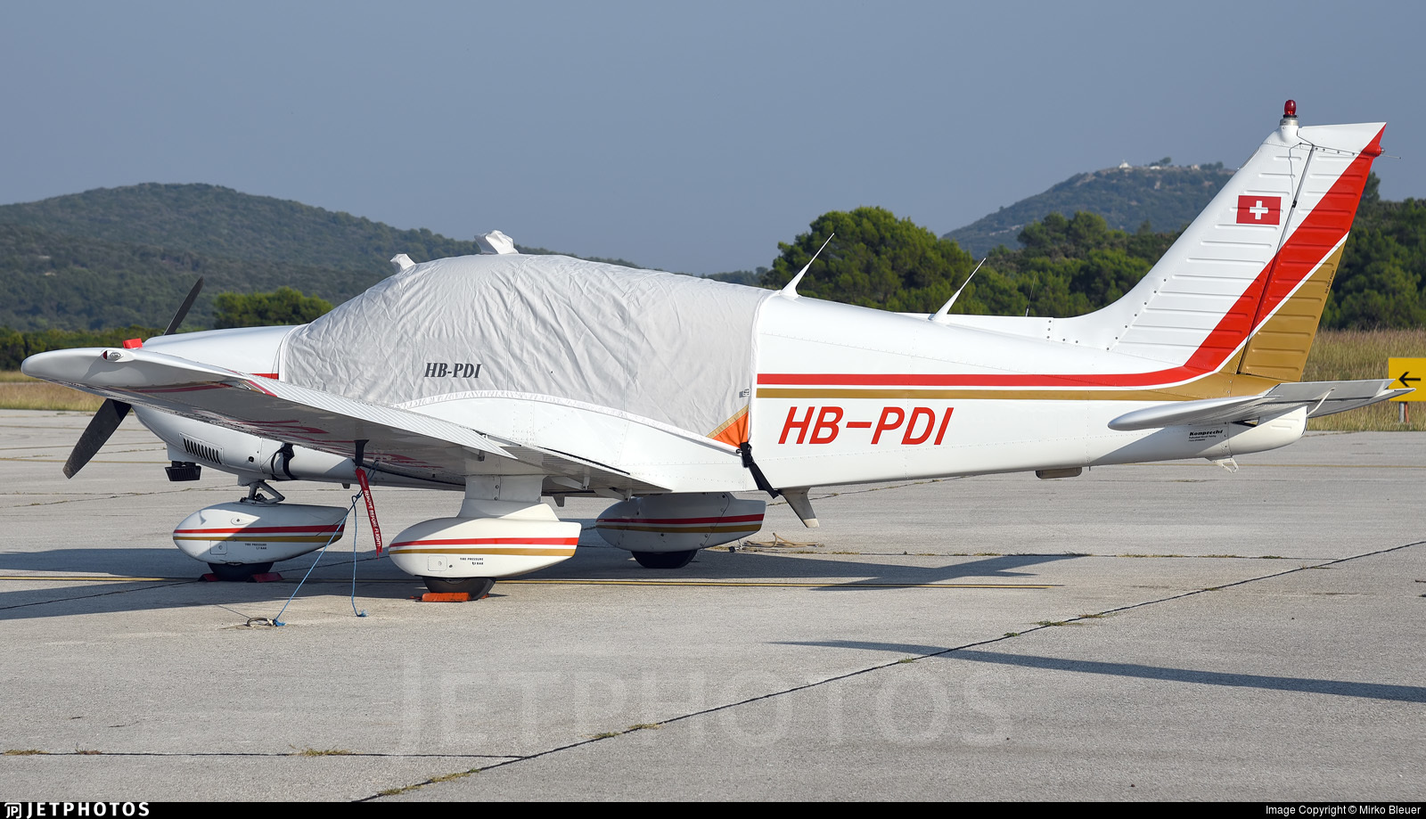 HB-PDI - Piper PA-28-181 Archer II - Private