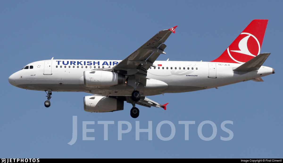 TC-JLO - Airbus A319-132 - Turkish Airlines