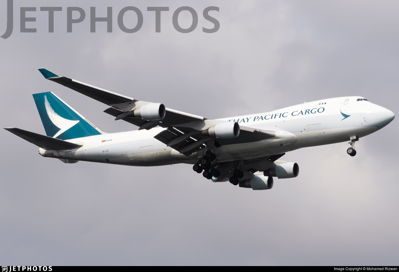 B-LIC - Boeing 747-467ERF - Cathay Pacific Cargo