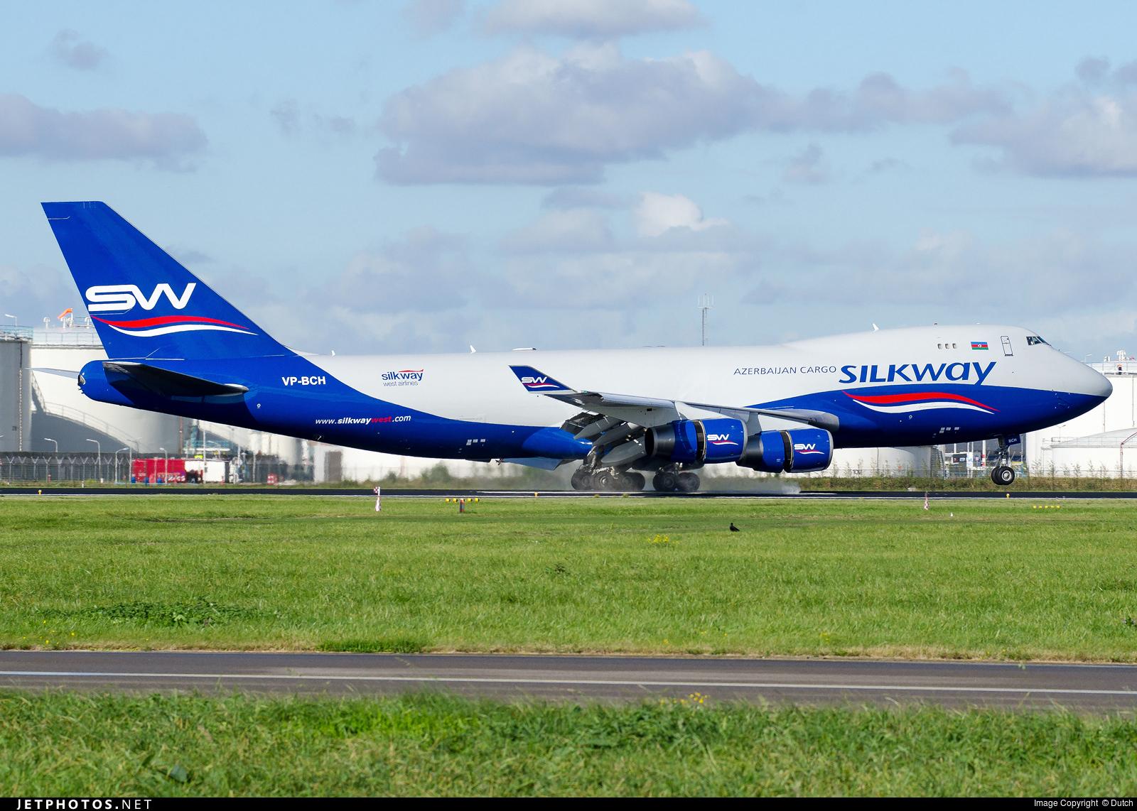 VP-BCH - Boeing 747-467F(SCD) - Silk Way West Airlines