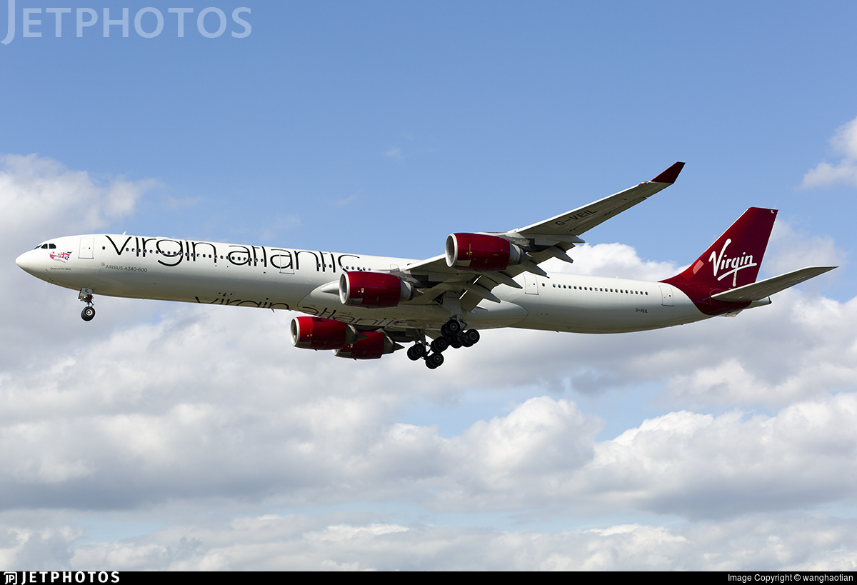 G-VEIL - Airbus A340-642 - Virgin Atlantic Airways