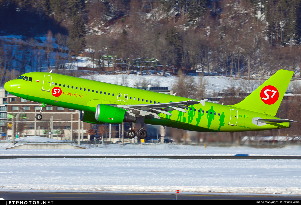 VQ-BPL - Airbus A320-214 - S7 Airlines