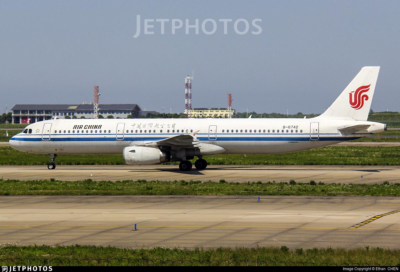 B-6742 - Airbus A321-232 - Air China