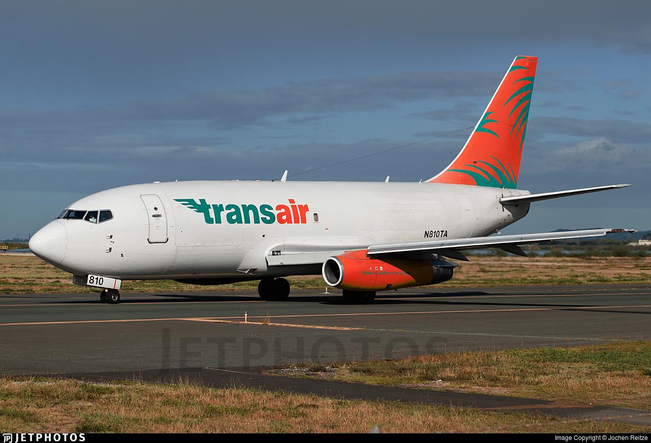 N810TA - Boeing 737-275C(Adv) - Transair