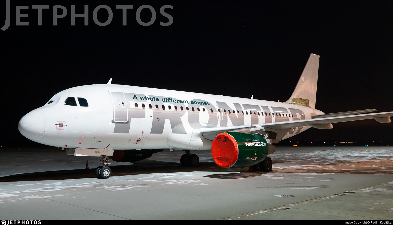 EI-FXP - Airbus A319-111 - Frontier Airlines